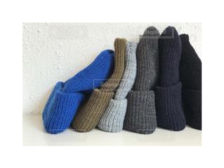 青と白の靴の写真・画像素材[854960]
