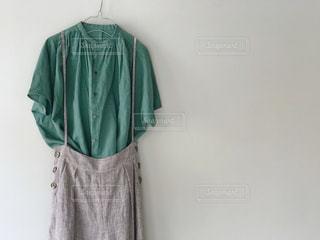 緑のドレスの写真・画像素材[1207941]