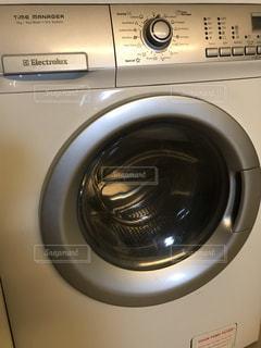 エレクトロラックスの洗濯機の写真・画像素材[1772220]