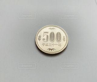 平成31年の500円硬貨の写真・画像素材[2148747]