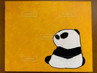 パンダの絵の写真・画像素材[2265294]