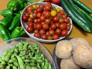 新鮮夏野菜の写真・画像素材[2366676]