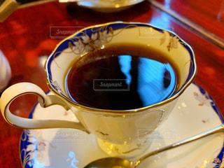 喫茶店のコーヒーの写真・画像素材[3014553]