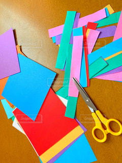 折り紙とはさみの写真・画像素材[3162091]