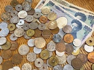 お金の写真・画像素材[3504092]