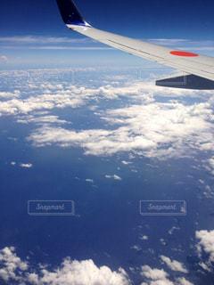 飛行機からの風景の写真・画像素材[1774157]