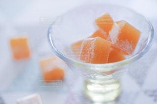 オレンジ色のキャンディーの写真・画像素材[1827290]