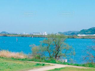 倉敷の高梁川の写真・画像素材[1784574]