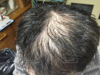 頭髪の写真・画像素材[1828790]