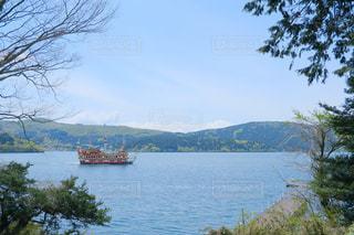 芦ノ湖の写真・画像素材[2125721]