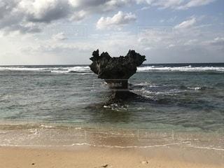 沖縄のハートロックの写真・画像素材[1812870]