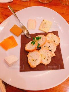 チーズの盛り合わせの写真・画像素材[1775534]