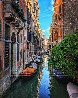 ベネチアの運河の写真・画像素材[1777456]