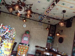カフェの写真・画像素材[2011656]