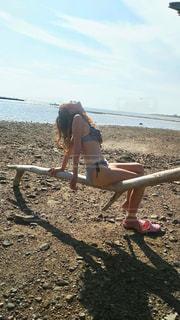 砂浜の写真・画像素材[2336670]