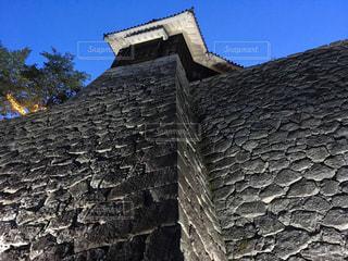 大規模な石造りの建物の写真・画像素材[722971]