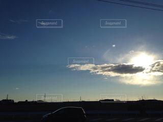朝の空の定点撮影  2019.3.8の写真・画像素材[1831275]