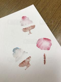 手作りハガキの写真・画像素材[1800147]