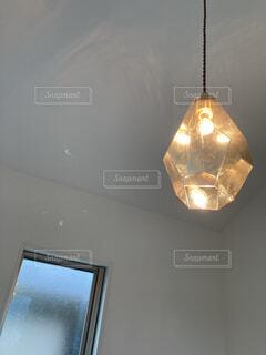 我が家の照明の写真・画像素材[4517264]