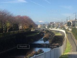 晴天、富士山見物の写真・画像素材[1782102]