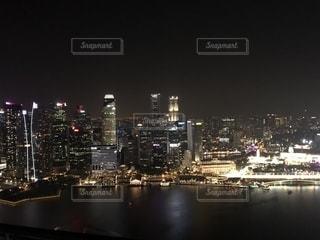 シンガポール マリーナベイサンズからの写真・画像素材[1782205]
