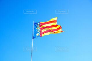 晴れた日の旗の写真・画像素材[1784909]