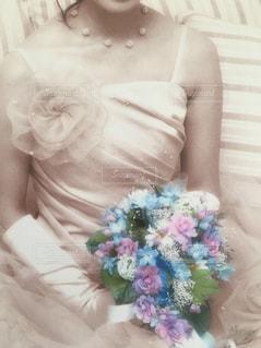 ウェディングドレスの写真・画像素材[1826449]