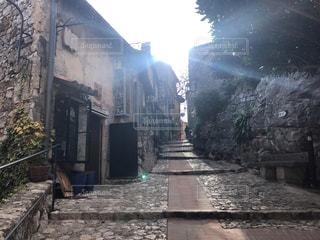 エズ村の通りの写真・画像素材[1784694]