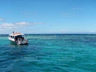 パプアニューギニアの海・船上からの景色の写真・画像素材[2157420]