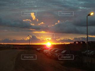 夕日の写真・画像素材[2162787]