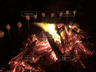 焚き火の写真・画像素材[1784999]