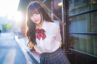 女子高生の写真・画像素材[3458173]