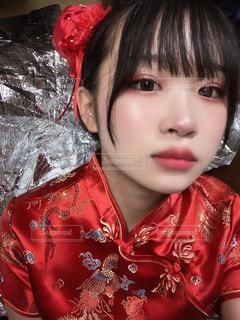 チャイナ女子の写真・画像素材[3635971]