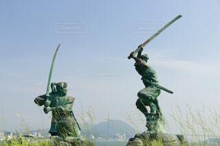 武蔵と小次郎の写真・画像素材[755282]