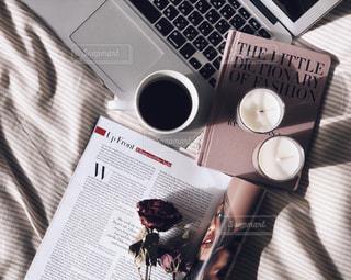 一杯のコーヒーの写真・画像素材[1785424]