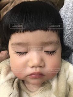 まつ毛が長い子供。の写真・画像素材[1790158]