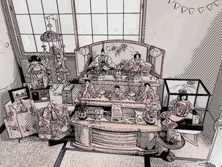 我が家のお雛様の写真・画像素材[1801552]