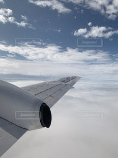 空の旅の写真・画像素材[2382298]