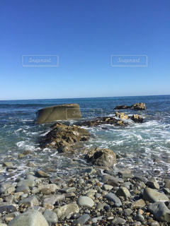 尻屋崎の海の写真・画像素材[1790012]