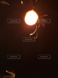 線香花火の写真・画像素材[1816022]