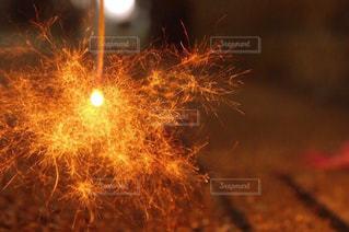 空に花火の写真・画像素材[1791343]