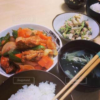奥さんの手料理の写真・画像素材[2939246]