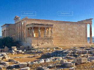アテネの遺跡の写真・画像素材[3264163]