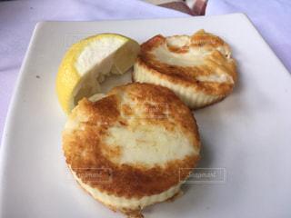 焼いたチーズの写真・画像素材[3264482]