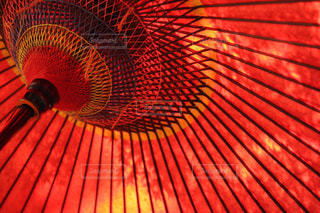 赤い傘の写真・画像素材[1795012]
