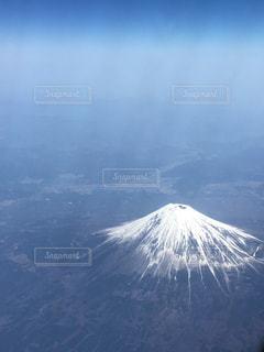 空から撮影した富士山の写真・画像素材[1797333]