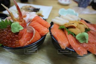 朝市贅沢海鮮丼の写真・画像素材[1798841]