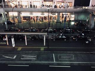 タクシー乗り場の写真・画像素材[1803243]