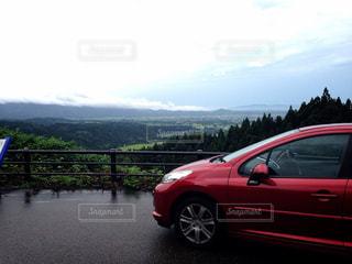 山と車の写真・画像素材[1819460]