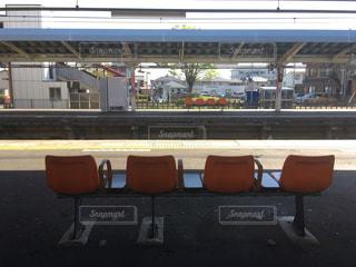 田舎の駅の写真・画像素材[2020187]